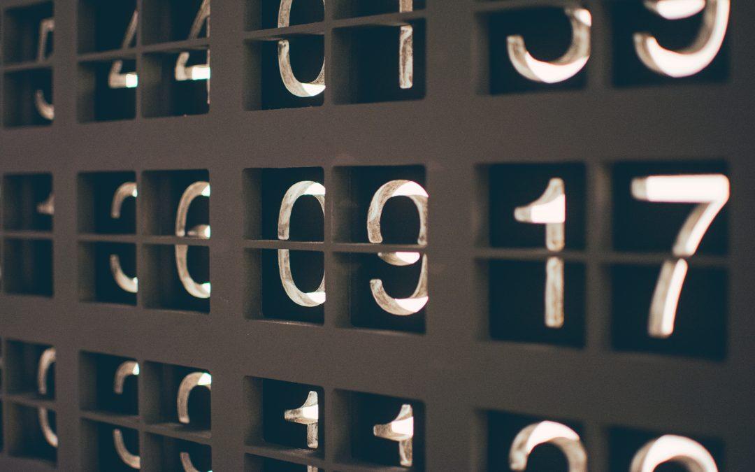 Los números del 0 al 10